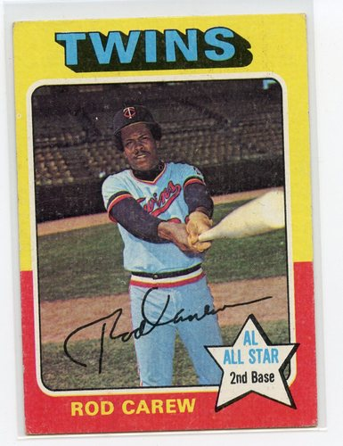Photo of 1975 Topps #600 Rod Carew