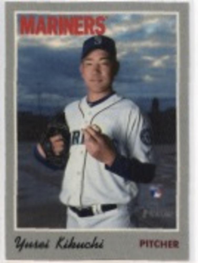 2019 Topps Heritage '70 Topps Stickers #21 Yusei Kikuchi