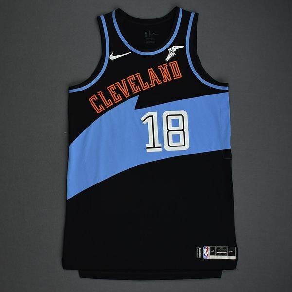 Image of Matthew Dellavedova - Cleveland Cavaliers - Game-Worn Classic Edition 1994-96 Road Jersey - 2019-20 Season