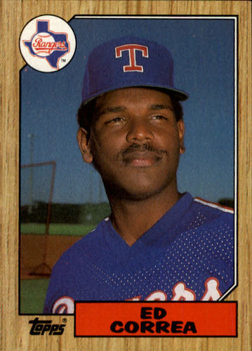 Photo of 1987 Topps #334 Ed Correa
