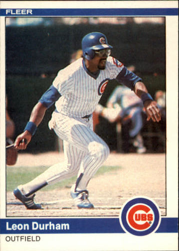 Photo of 1984 Fleer #492 Leon Durham