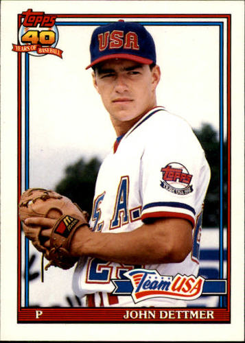 Photo of 1991 Topps Traded #32T John Dettmer USA RC