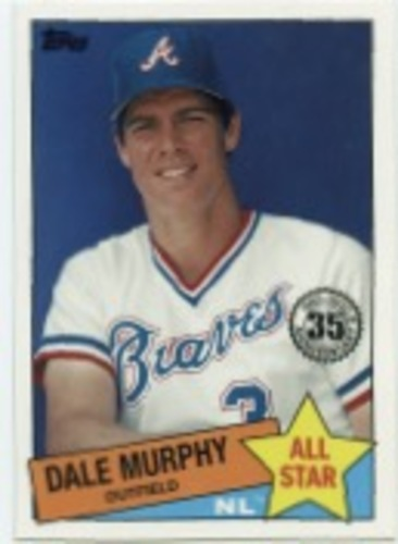 Photo of 2020 Topps '85 Topps All Stars #85AS28 Dale Murphy