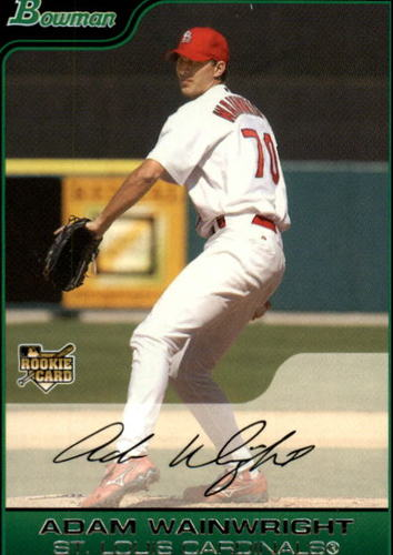 Photo of 2006 Bowman #214 Adam Wainwright (RC)
