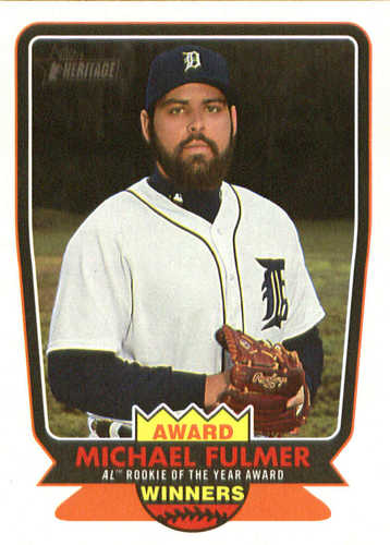 Photo of 2017 Topps Heritage Award Winners #AW4 Michael Fulmer
