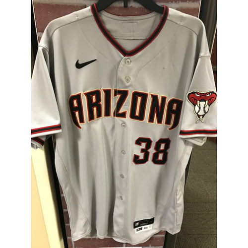 2020 Robbie Ray Team-Issued Road Gray Jersey