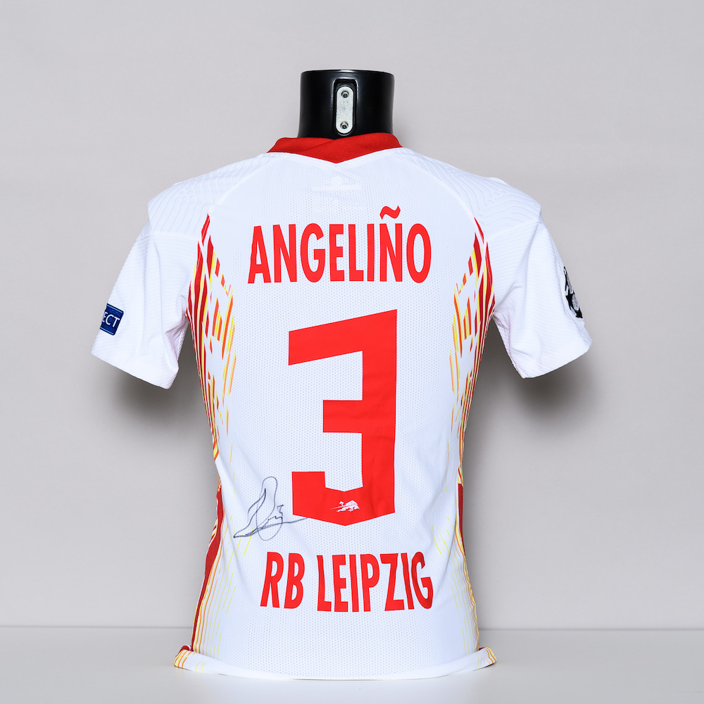 20/21 RB Leipzig Jersey - signed by Angelino
