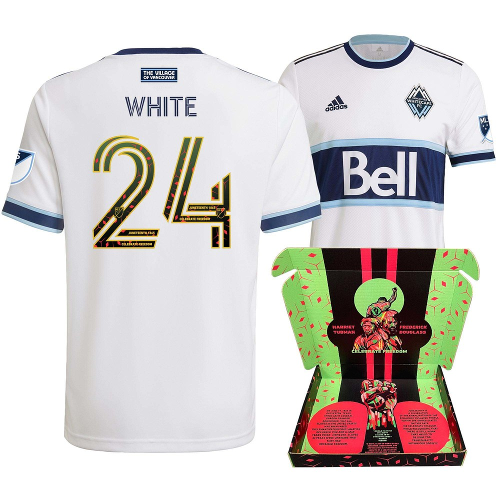 Brian White Vancouver Whitecaps FC Match-Used & Signed