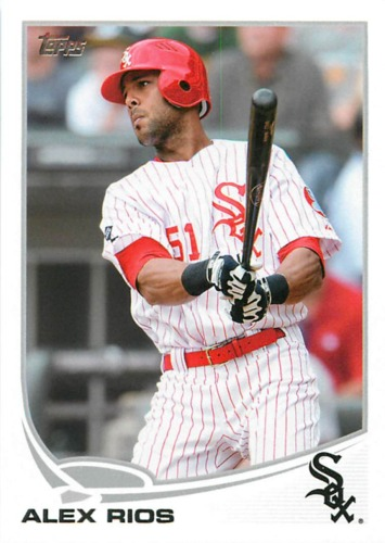 Photo of 2013 Topps #151 Alex Rios