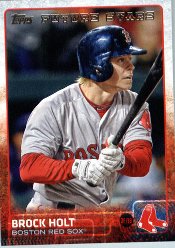 Photo of 2015 Topps Update #US264 Brock Holt FS