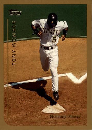 Photo of 1999 Topps #310 Tony Womack