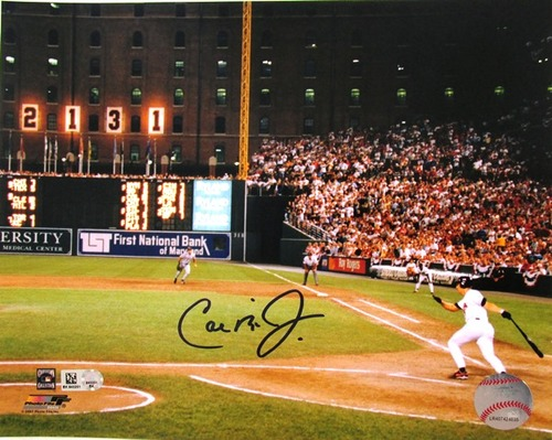 Photo of Cal Ripken Jr. Autographed 8x10