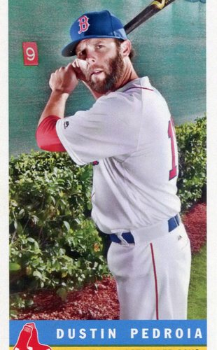 Photo of 2017 Topps Archives '59 Bazooka #59B19 Dustin Pedroia