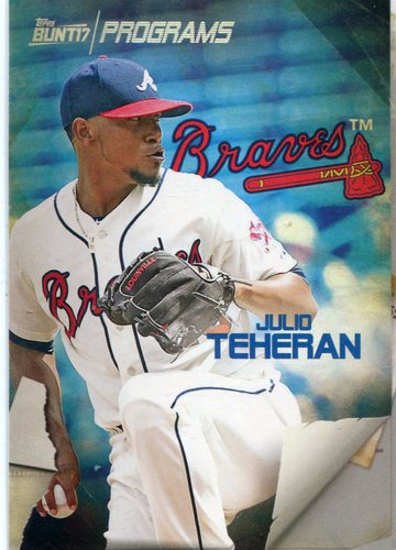 Photo of 2017 Topps Bunt Programs #PRJT Julio Teheran