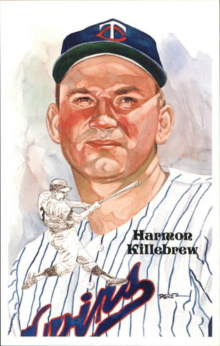 Photo of 1980-02 Perez-Steele Hall of Fame Postcards #188 Harmon Killebrew -- HOF Class of 1984
