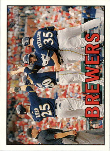Photo of 2016 Topps Heritage #363 Milwaukee Brewers