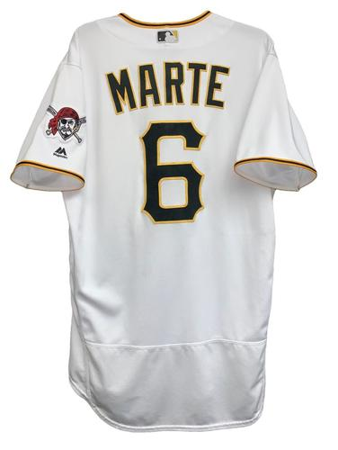 Photo of Starling Marte 2018 Game-Used Jersey
