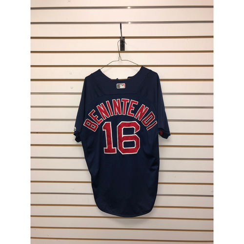 Photo of Andrew Benintendi Team-Issued Road Batting Practice Jersey