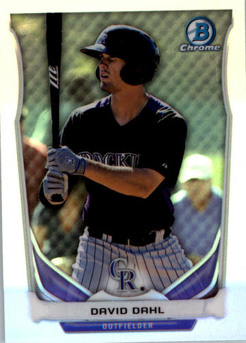 Photo of 2014 Bowman Chrome Draft Top Prospects Refractors #CTP15 David Dahl