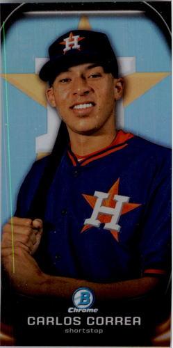 Photo of 2015 Bowman Chrome Prospect Profiles Minis #PP2 Carlos Correa