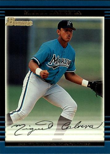 Photo of 2002 Bowman #245 Miguel Cabrera
