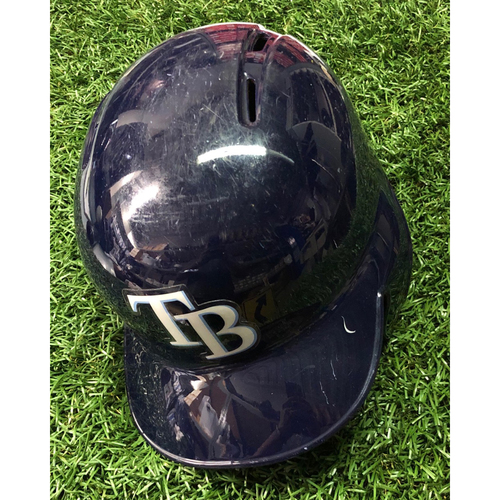 Photo of 2018 Game Used Helmet: Daniel Robertson HOME RUN - July 23, 2018 v NYY - Size Unavailable
