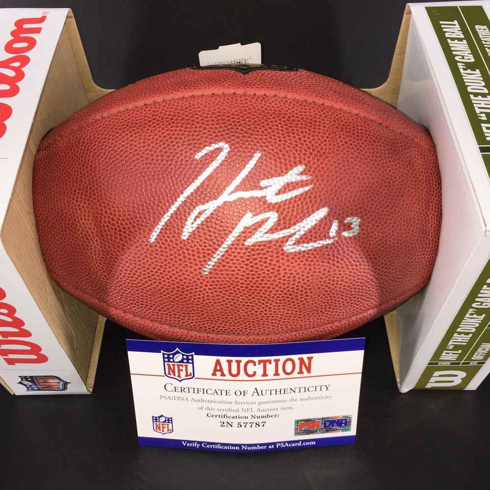 NFL Auction | NFL - Raiders Hunter Renfrow Signed ...