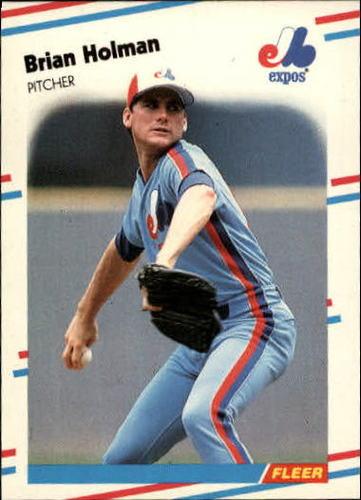 Photo of 1988 Fleer Update #100 Brian Holman XRC
