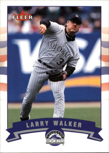 Photo of 2002 Fleer #338 Larry Walker