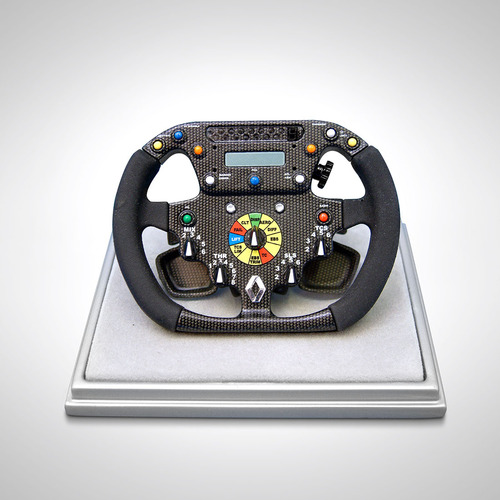 Photo of Renault F1 Team R26 Steering Wheel - 1:4 Scale Amalgam Model