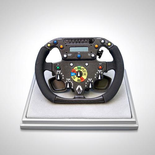Photo of Renault F1 Team R26 Steering Wheel - 1:4 Scale Amalgam Model
