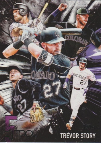 Photo of 2017 Topps Five Tool #5T29 Trevor Story