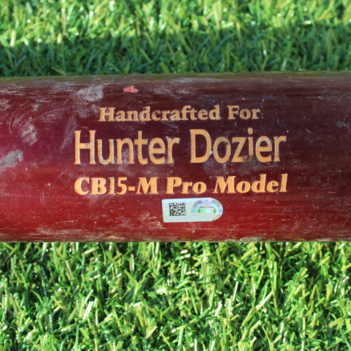 Photo of Team-Issued Bat: Hunter Dozier