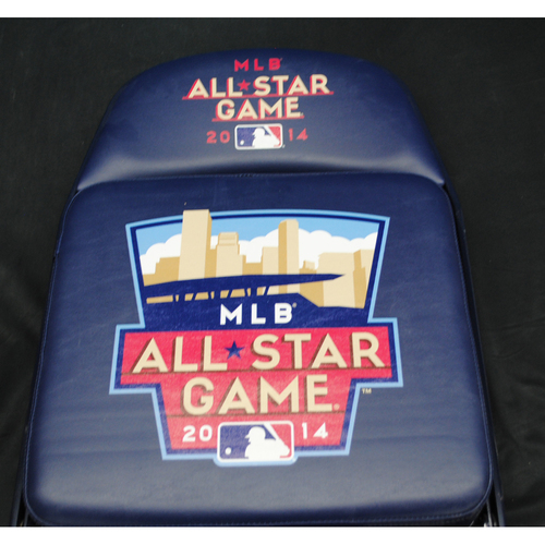 Photo of 2014 All Star Game (07/14/2014) - Autographed Locker Room Chair - Josh Harrison (Pittsburgh Pirates)