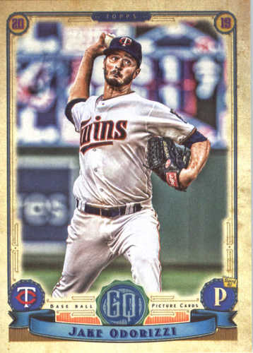 Photo of 2019 Topps Gypsy Queen #164 Jake Odorizzi