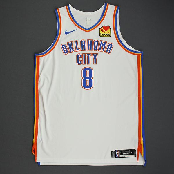 Image of Danilo Gallinari - Oklahoma City Thunder - Game-Worn Association Edition Jersey - 2019-20 NBA Season