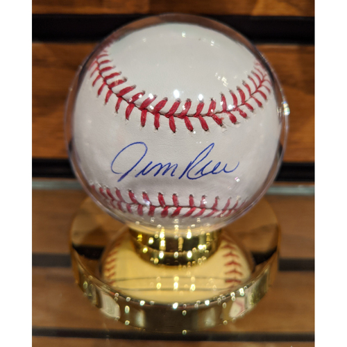Photo of Jim Rice Autographed Baseball