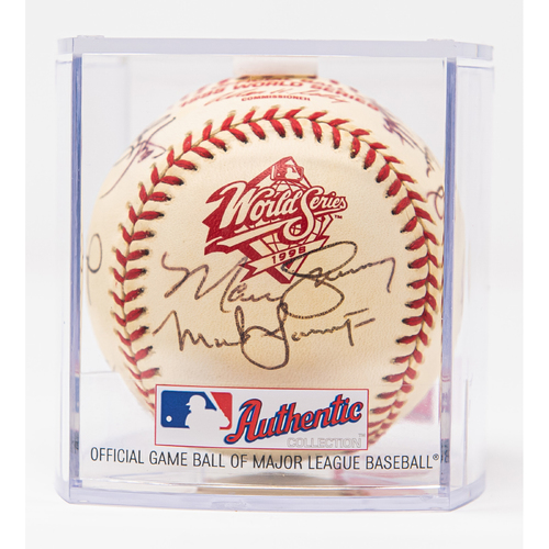Photo of 1998 World Series Team Signed Baseball (Not MLB Authenticated, COA Included)