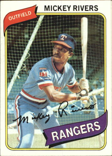 Photo of 1980 Topps #485 Mickey Rivers