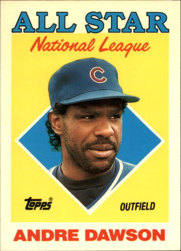 Photo of 1988 Topps Tiffany #401 Andre Dawson AS