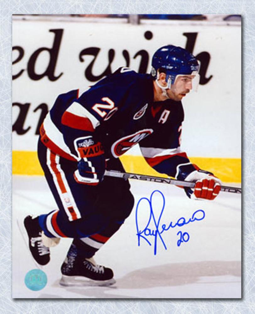Ray Ferraro New York Islanders Autographed 8x10 Photo
