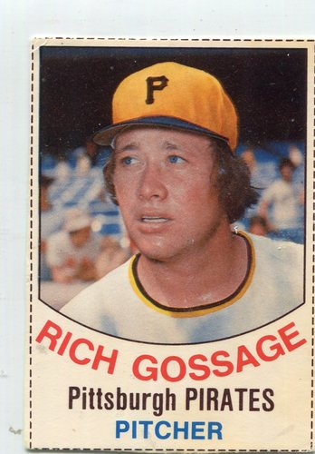 Photo of 1977 Hostess #128 Rich Gossage -- Hall of Fame Class of 2008