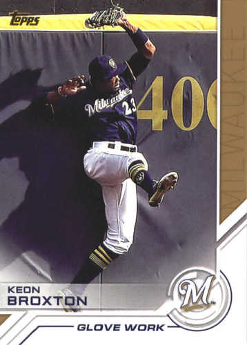 Photo of 2017 Topps Update Salute #USS33 Keon Broxton