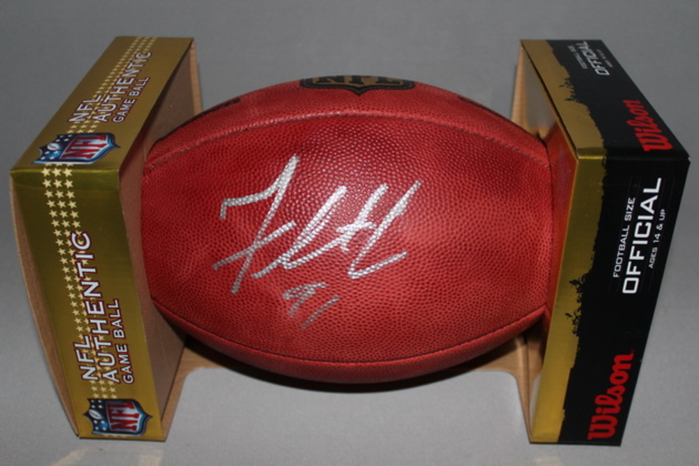 NFL - EAGLES FLETCHER COX SIGNED AUTHENTIC FOOTBALL