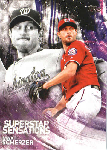 Photo of 2018 Topps Superstar Sensations #SSS25 Max Scherzer