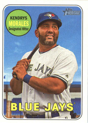 Photo of 2018 Topps Heritage #124 Kendrys Morales