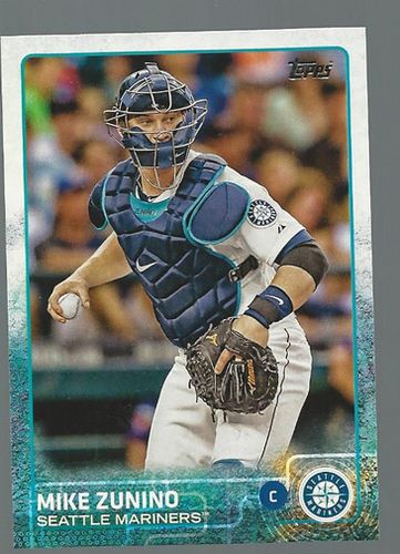 Photo of 2015 Topps #114 Mike Zunino