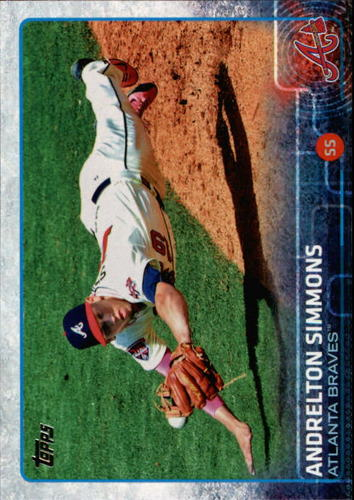 Photo of 2015 Topps #651A Andrelton Simmons