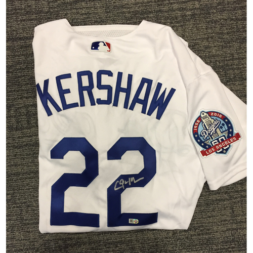 Photo of Los Angeles Dodgers Foundation Online Auction: Clayton Kershaw Authentic Autographed Jersey