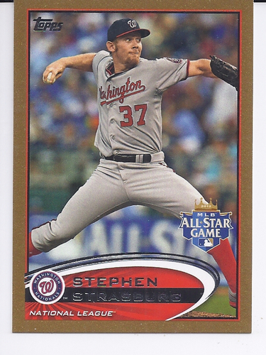 Photo of 2012 Topps Update Gold #US184 Stephen Strasburg